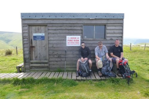 A rest at the second bothy