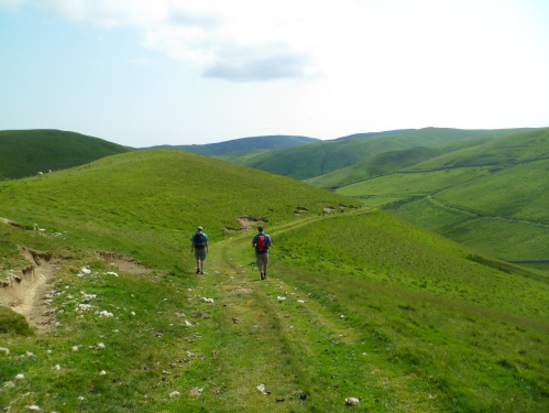Descent from Windy Gyle