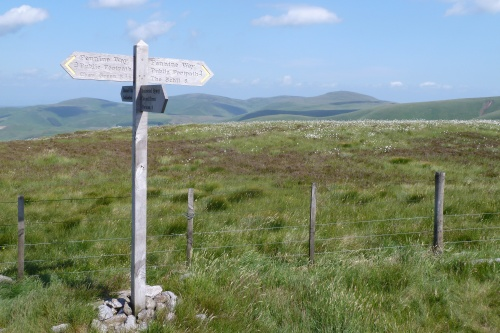 The Pennine Way Cheviots