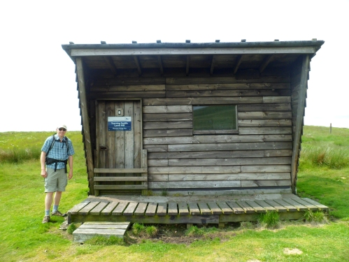Typical mountain bothy