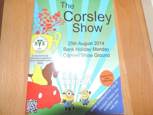 Corsley Show programme